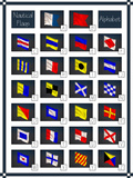 Nautical Flags Alphabet