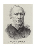 The Late Mr John Walter