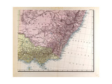 Map of New South Wales  1872