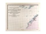 Map of Australia  1872