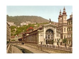 Thermal Spring Colonnade  Karlovy Vary  Pub 1890-1900
