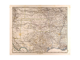 Map of the USA  1872