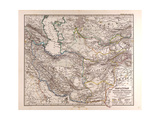 Map of Iran  1876