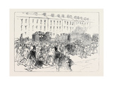 The Engineers' Strike at Newcastle: Arrival of Foreign Workmen 1871