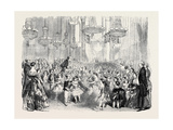 Juvenile Ball at the Mansion House  on New Year's Eve  January 5  1850