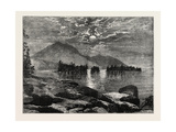 View on Lake George  North America  USA  1870s