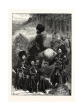 Natives of the Caucasus  North of Mingrelia  1873