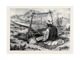 Afghanistan: a Weaver at Jellalabad 1879