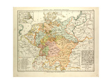 Map of Germany 1815 - 1866