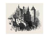 Old House Gdansk Poland 1869