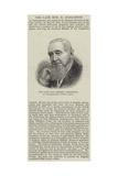 The Late Honourable Robert Godlonton  of Grahamstown  South Africa