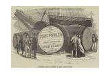 Monster Casks of Sherry in the London Docks