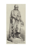 Statue of Sir Isaac Newton  Inaugurated Last Week at Grantham