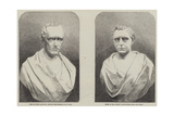 Busts of George and Robert Stephenson