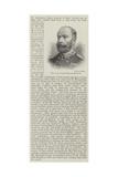 The Late Colonel William Haywood