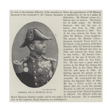 Admiral Sir E Seymour