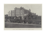 Culzean Castle  Ayrshire  the Seat of the Marquis of Ailsa