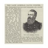 The Late Admiral David Porter