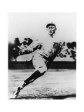 Ty Cobb  Star of the Detroit Tigers  in Action in 1910