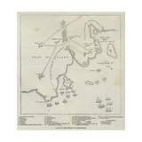 Plan of the Attack on Bomarsund