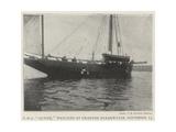 HMS Active  Wrecked at Granton Breakwater  13 November