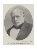 The Late Sir Henry Bessemer