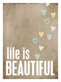 La vie est belle Giclée par Cheryl Overton