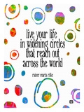 Live Your Live In Widening Circles