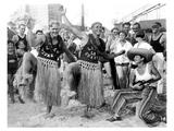 Men Hula Dancing