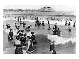 Coney Island Beach Goers
