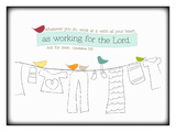 As Working for the Lord