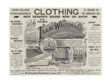 Advertisement  Isaac Walton and Company