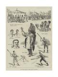 The Canadian Game of La Crosse  Played at Hurlingham