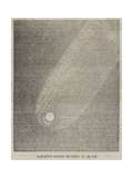 Donati's Comet on 17 September  8 1/2 PM