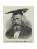 The Late Mr John Henry Parker