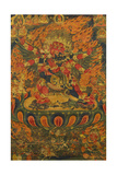 A Tibetan Thanka with a Central Figure of Heruka