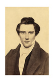 Portrait of Joseph Smith (1805-44) the Founder of Mormonism