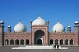 Facade of Badshahi Mosque  Lahore  Punjab  Pakistan  17th Century