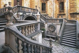 Staircase of a Building  Villa Palagonia  Bagheria  Sicily  Italy