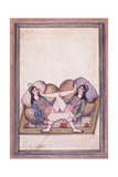 An Erotic Scene  Mid 19th Century