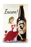 Encore! (Girl  Bottle and Harp)  C1938