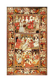 An Antique Pictorial Kirman Rug