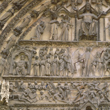 Last Judgement  Tympanum of the Central Portal of West Facade