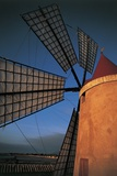 Close-Up of an Industrial Windmill  Paceco  Trapani  Sicily  Italy