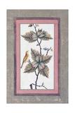 Bird and Flower Study  C1780