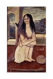 Portrait of Shamsi Tabrizi  the Dervish  C1840-1