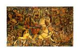 The Battle of Kerbala  19th Century