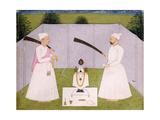 Pandits Attending Balwant Singh's Personal Shrine  C 1750