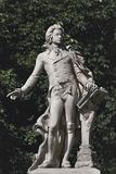 Close-Up of a Statue  Mozart Statue  Vienna  Austria