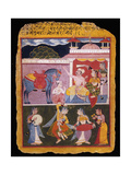 An Illustration to Rasikapriya of Keshav Das  Early 17th Century